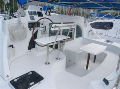 Preowned Sail Catamarans for Sale 2005 Lagoon 380 S2 Deck & Equipment