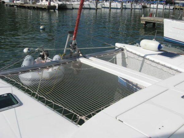 Used Sail Catamaran for Sale 2003 Lagoon 380 Deck & Equipment
