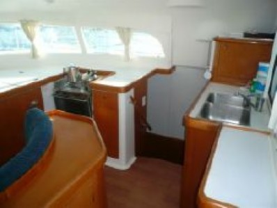 Used Sail Catamaran for Sale 2006 Lagoon 410 Galley