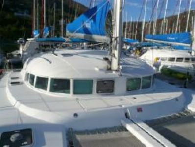 Used Sail Catamaran for Sale 2006 Lagoon 410 Deck & Equipment