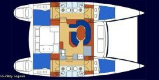 Used Sail Catamaran for Sale 2006 Lagoon 410 Boat Highlights