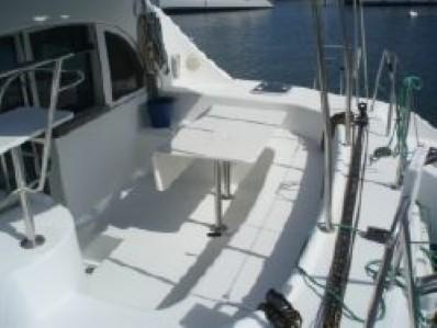 Preowned Sail Catamarans for Sale 2003 Lagoon 380 Deck & Equipment