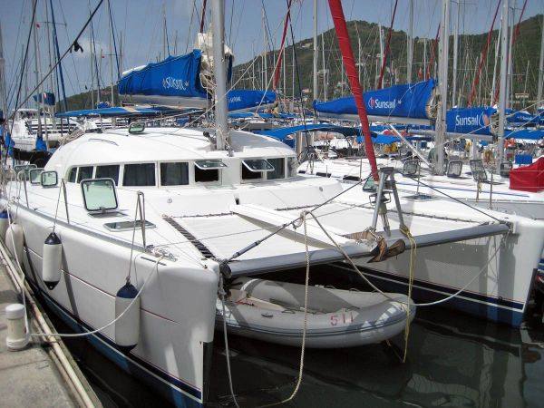 Preowned Sail Catamarans for Sale 2004 Lagoon 410 Additional Information