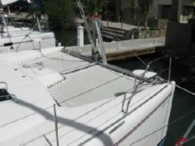 Used Sail Catamarans for Sale 2005 Leopard 43  Deck & Equipment