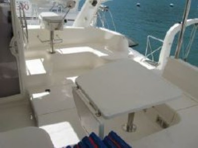 Used Sail Catamarans for Sale 2005 Leopard 43  Deck & Equipment