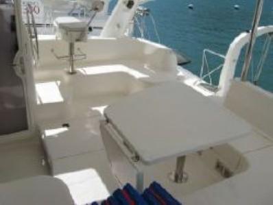 Used Sail Catamaran for Sale 2005 Leopard 43  Deck & Equipment