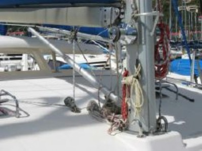 Used Sail Catamarans for Sale 2005 Leopard 43  Sails & Rigging