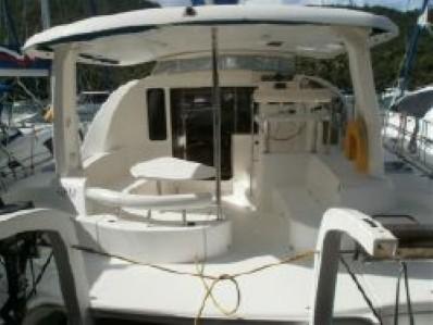 Used Sail Catamaran for Sale 2006 Leopard 40 Deck & Equipment