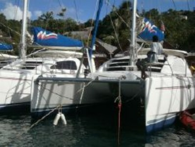 Preowned Sail Catamarans for Sale 2006 Leopard 40 Boat Highlights