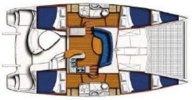 Used Sail Catamaran for Sale 2006 Leopard 40 Boat Highlights