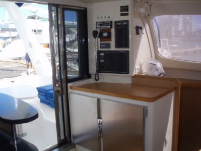 Used Sail Catamaran for Sale 2006 Leopard 40 Electronics & Navigation