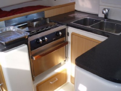Used Sail Catamaran for Sale 2006 Leopard 40 Galley
