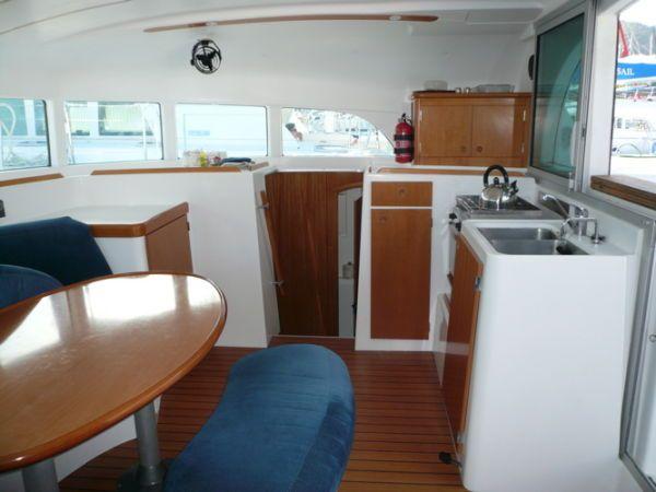 Preowned Sail Catamarans for Sale 2004 Lagoon 380 Galley