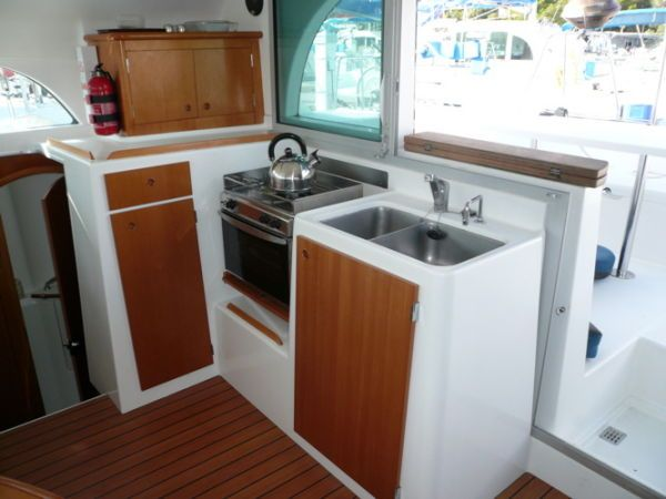 Used Sail Catamaran for Sale 2004 Lagoon 380 Galley