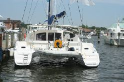 Preowned Sail Catamarans for Sale 2005 Lavezzi 40 Boat Highlights