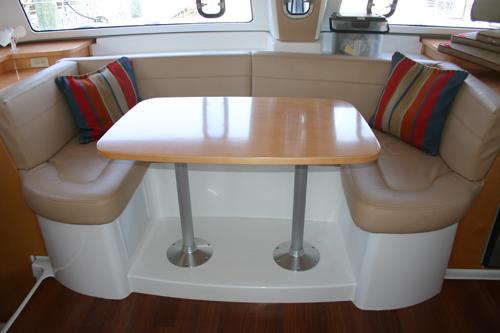 Used Sail Catamaran for Sale 2009 Mahe 36 Layout & Accommodations