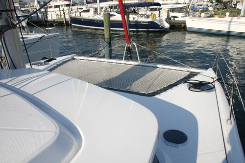 Used Sail Catamaran for Sale 2009 Mahe 36 Deck & Equipment