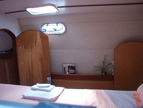Used Sail Catamaran for Sale 1996 Catana 48 Layout & Accommodations