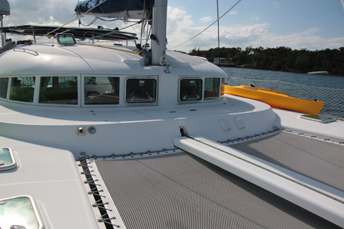 Used Sail Catamaran for Sale 2003 Lagoon 410 Deck & Equipment