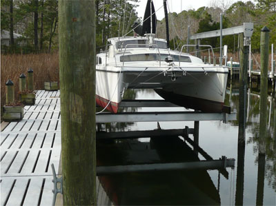 Preowned Sail Catamarans for Sale 2001 Gemini 105Mc Boat Highlights