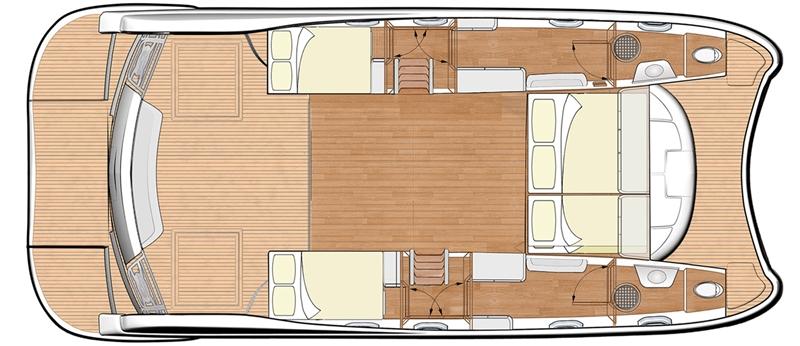 New Power Catamarans for Sale 2015 FlashCat 43  Boat Highlights