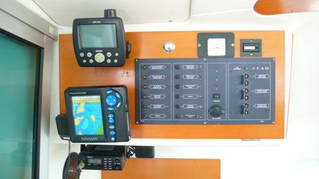 Preowned Sail Catamarans for Sale 2003 Lagoon 380 Electronics & Navigation