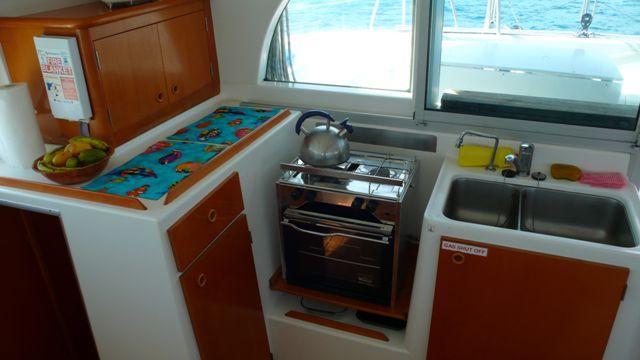 Used Sail Catamaran for Sale 2003 Lagoon 380 Galley