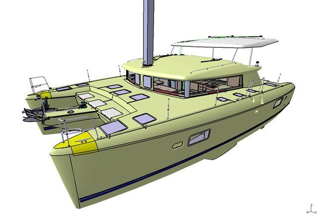 Used Sail Catamaran for Sale 2008 Lagoon 420 Boat Highlights