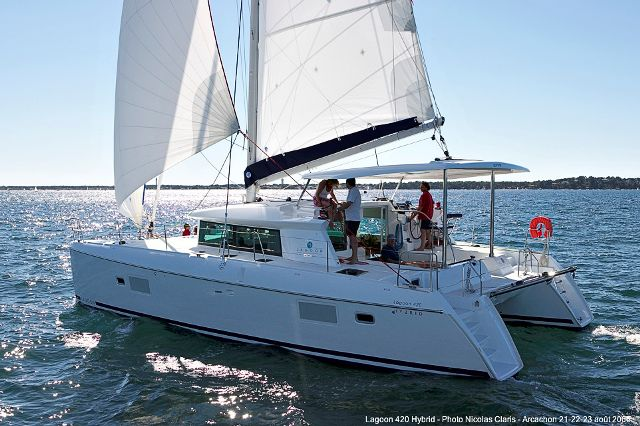 Preowned Sail Catamarans for Sale 2008 Lagoon 420 Boat Highlights