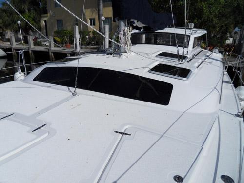 Preowned Sail Catamarans for Sale 2012 Gemini 105Mc Deck & Equipment