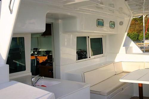 Preowned Sail Catamarans for Sale 2007 Lagoon 440 Deck & Equipment