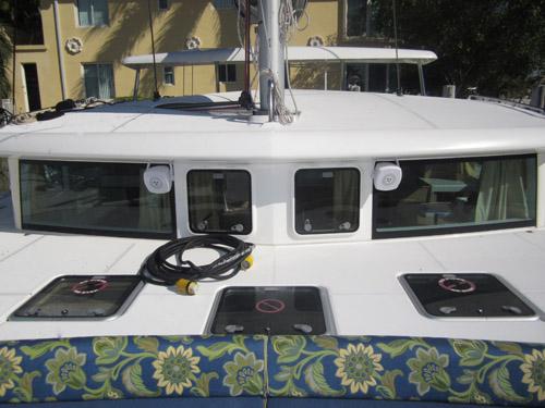 Used Sail Catamaran for Sale 2008 Lagoon 420 Deck & Equipment