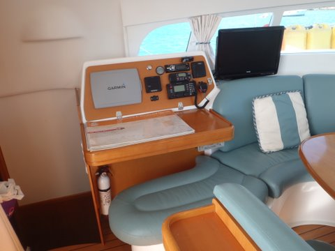 Preowned Sail Catamarans for Sale 2003 Lagoon 410 Electronics & Navigation