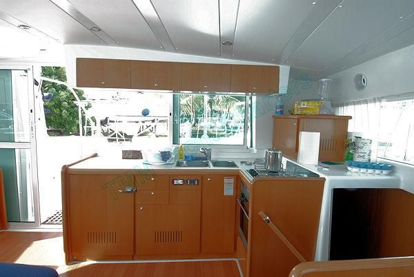 Preowned Sail Catamarans for Sale 2007 Lagoon 420 Galley