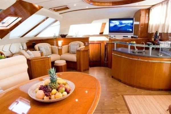 Preowned Sail Catamarans for Sale 2002 Privilege 58 Layout & Accommodations