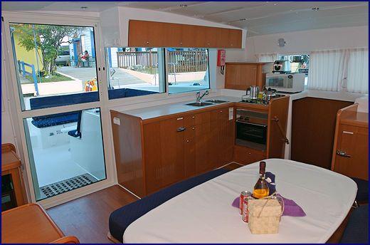 Used Sail Catamaran for Sale 2007 Lagoon 420 Galley