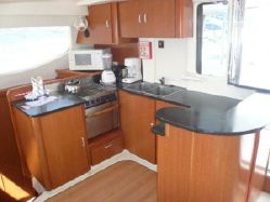 Preowned Sail Catamarans for Sale 2009 Leopard 46  Layout & Accommodations