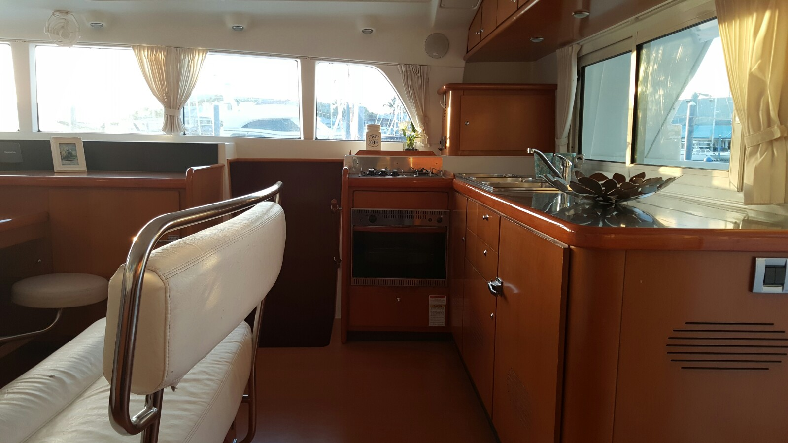 Preowned Sail Catamarans for Sale 2005 Lagoon 440 Layout & Accommodations