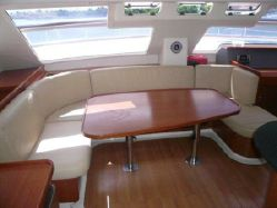 Preowned Power Catamarans for Sale 2008 Leopard 47 Layout & Accommodations