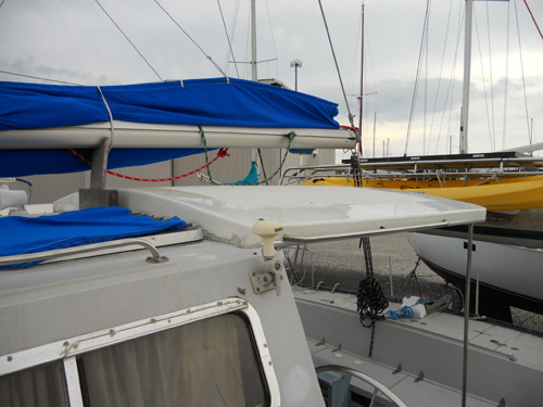 Preowned Sail Catamarans for Sale 1983 Catalac 12m Deck & Equipment
