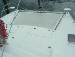 Preowned Sail Catamarans for Sale 2007 Leopard 40 Deck & Equipment