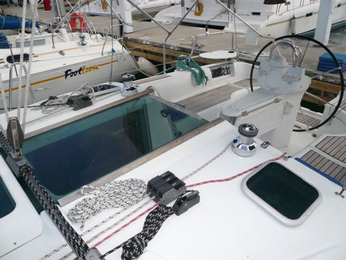 Preowned Sail Catamarans for Sale 2002 Beneteau 361 Deck & Equipment