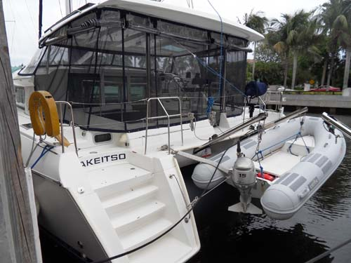 Preowned Sail Catamarans for Sale 2007 Lagoon 420 Deck & Equipment