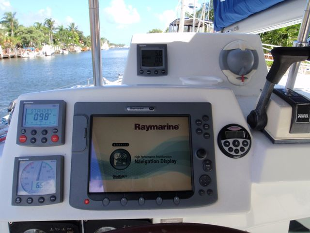 Preowned Sail Catamarans for Sale 2005 Lagoon 380 S2 Electronics & Navigation