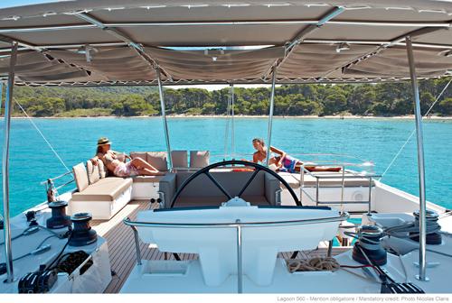 Preowned Sail Catamarans for Sale 2011 Lagoon 560 Deck & Equipment
