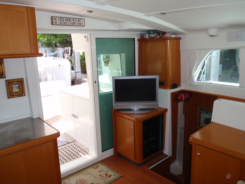 Used Sail Catamaran for Sale 2005 Lagoon 440 Electronics & Navigation