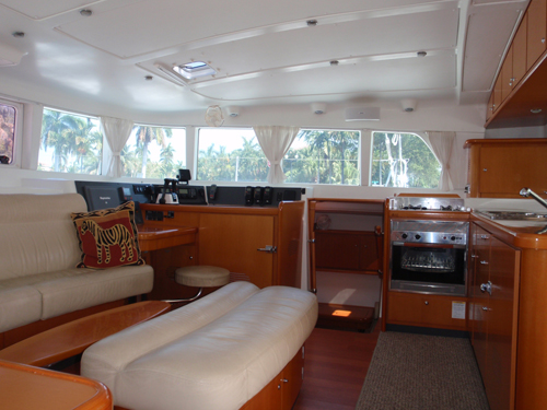 Used Sail Catamaran for Sale 2005 Lagoon 440 Layout & Accommodations