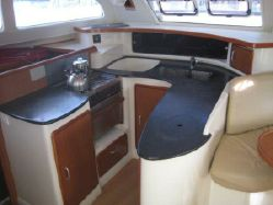 Used Sail Catamaran for Sale 2008 Leopard 43  Layout & Accommodations