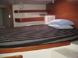 Preowned Sail Catamarans for Sale 2008 Leopard 43  Layout & Accommodations