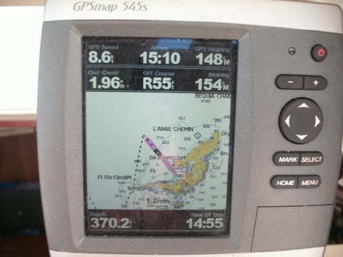Preowned Sail Catamarans for Sale 2001 Gemini 105Mc Electronics & Navigation